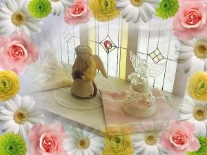 天使とフラワー